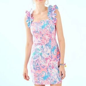 Lilly Pulitzer Steffi Stretch Shift Dress